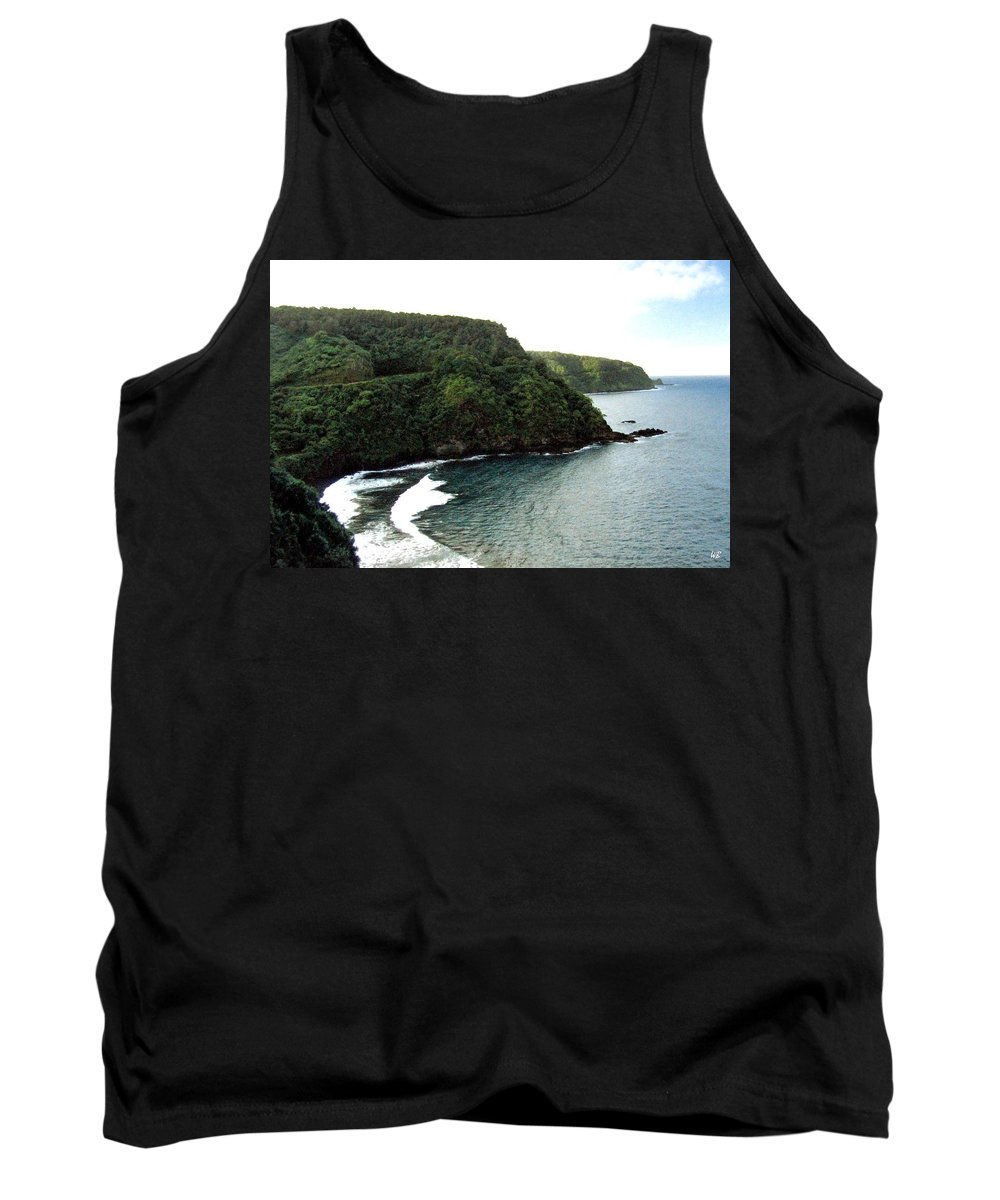 1986 Tank Top featuring the photograph Highway To Hana by Will Borden