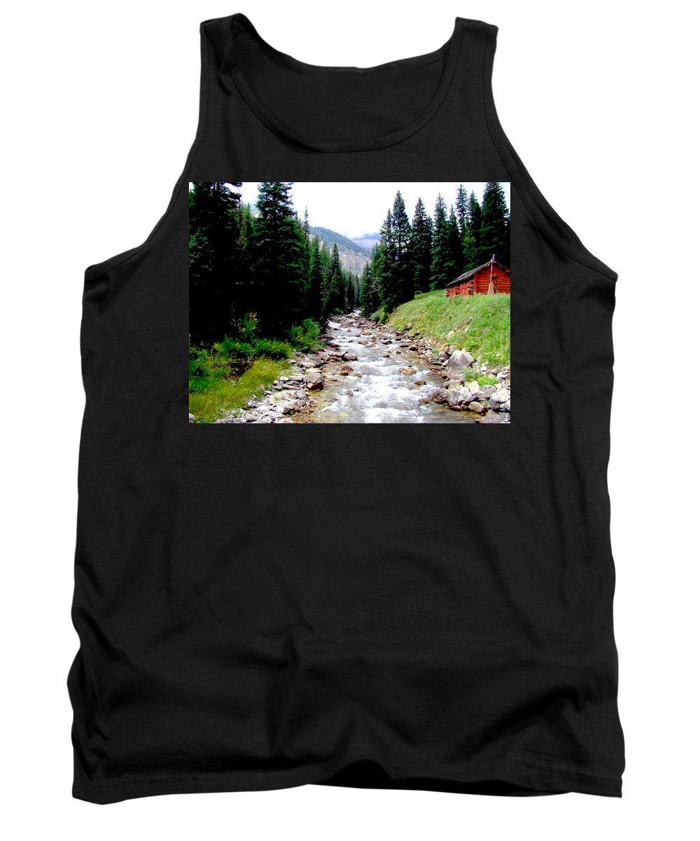 Hobock Tank Top featuring the photograph Hobock Canyon by Terry Anderson
