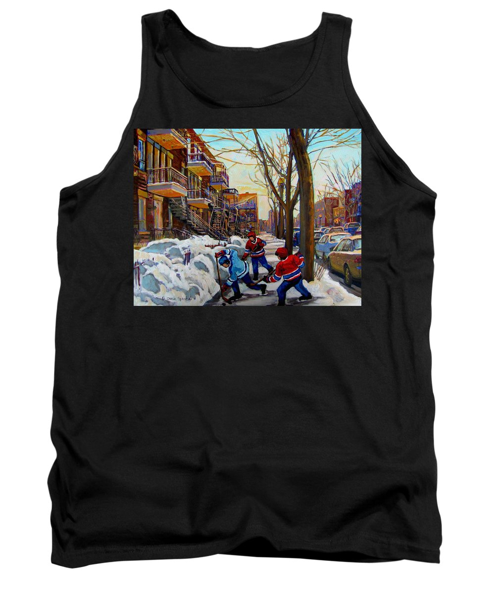 City Of Montreal Tank Tops