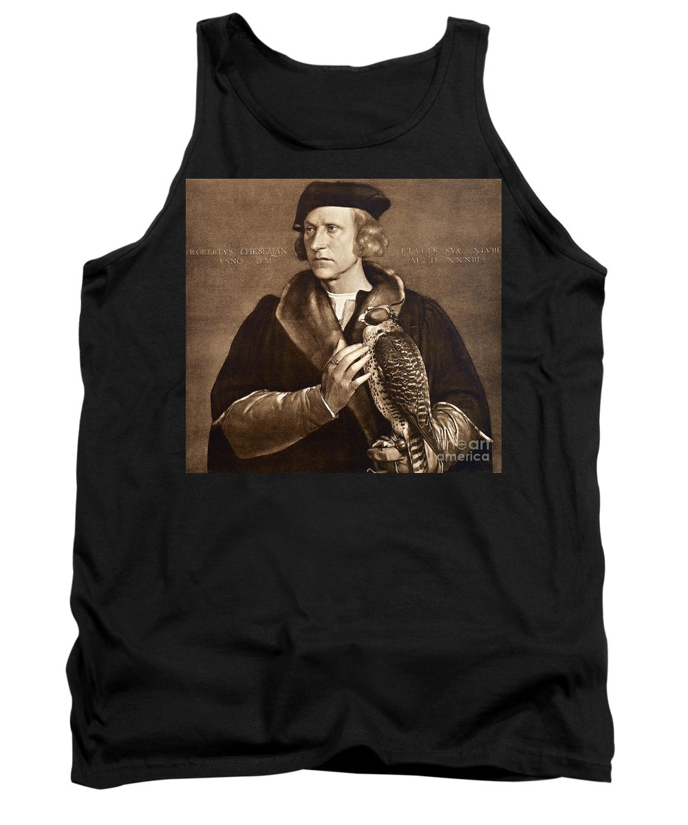 1533 Tank Top featuring the photograph Holbein: Falconer, 1533 by Granger
