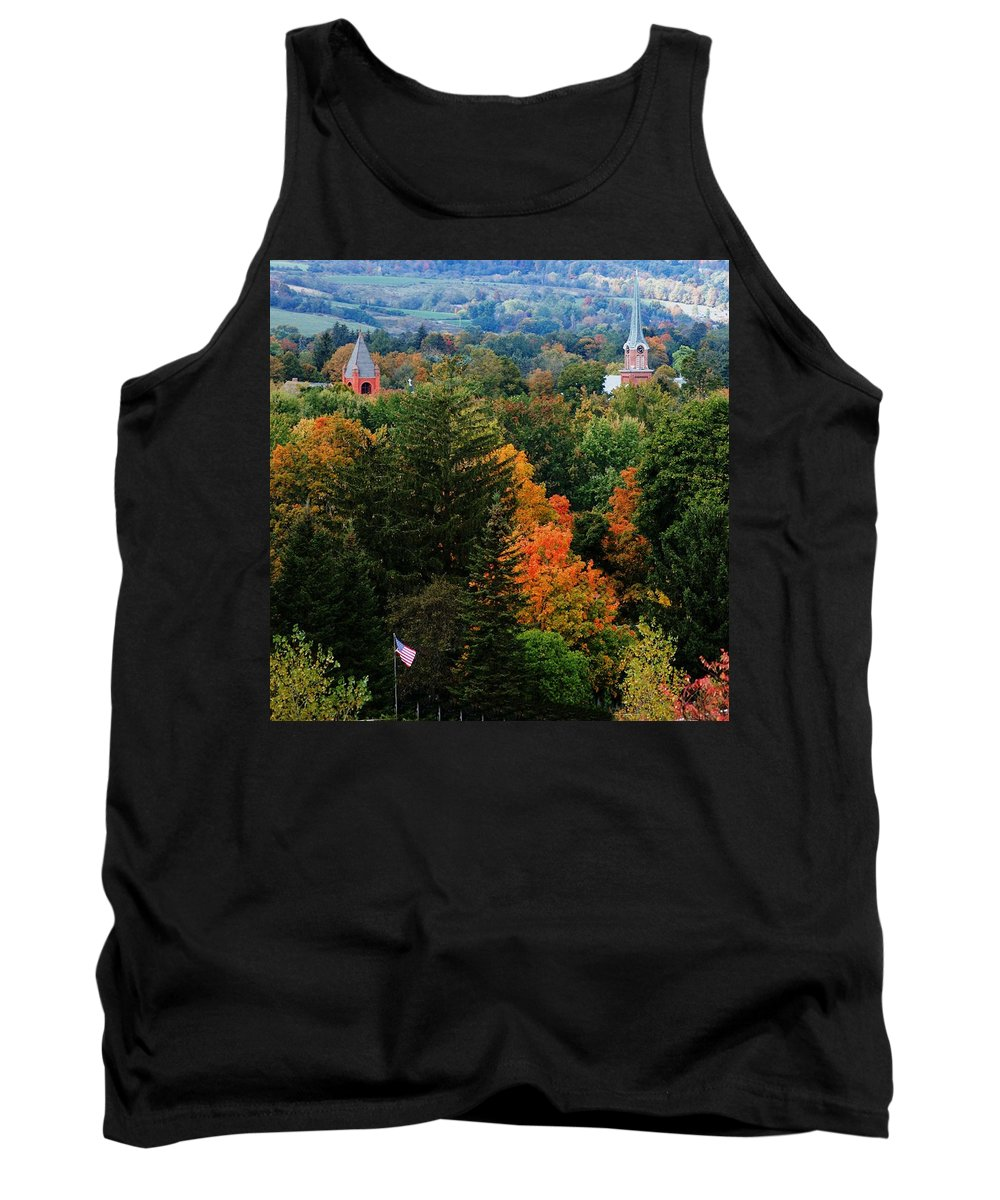 Landscape Tank Top featuring the photograph Homer Ny by David Lane
