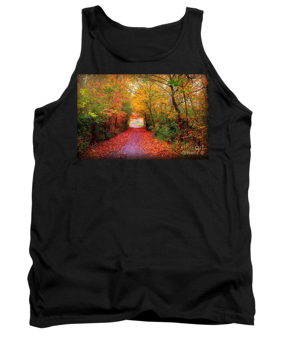 Autumn Tank Top featuring the photograph Hope by Jacky Gerritsen
