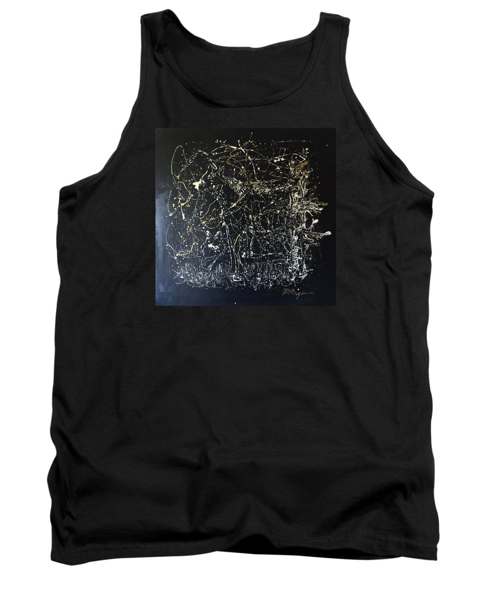 Horse In Pasture Tank Top featuring the mixed media Horse In Pasture by J R Seymour