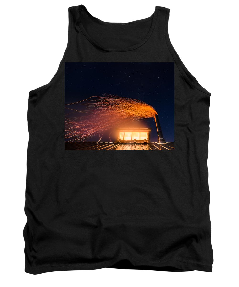 Vermont Tank Top featuring the photograph Hot At Night by Tim Kirchoff