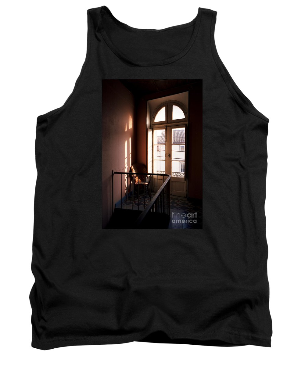 France Tank Top featuring the photograph Hotel Window by Riccardo Mottola