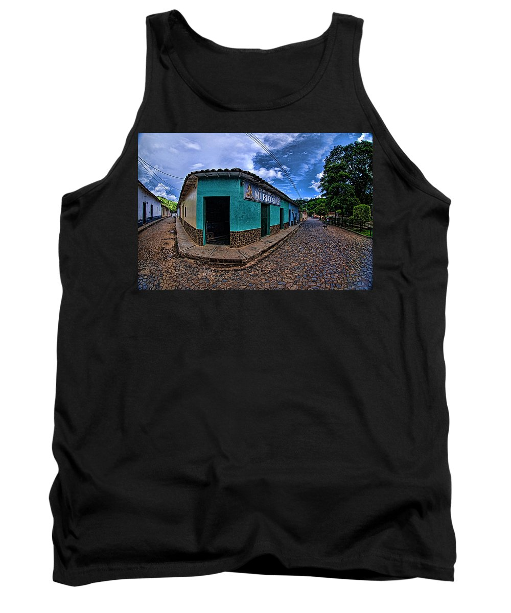 House Tank Top featuring the photograph House Of Altagracia De Orituco by Galeria Trompiz
