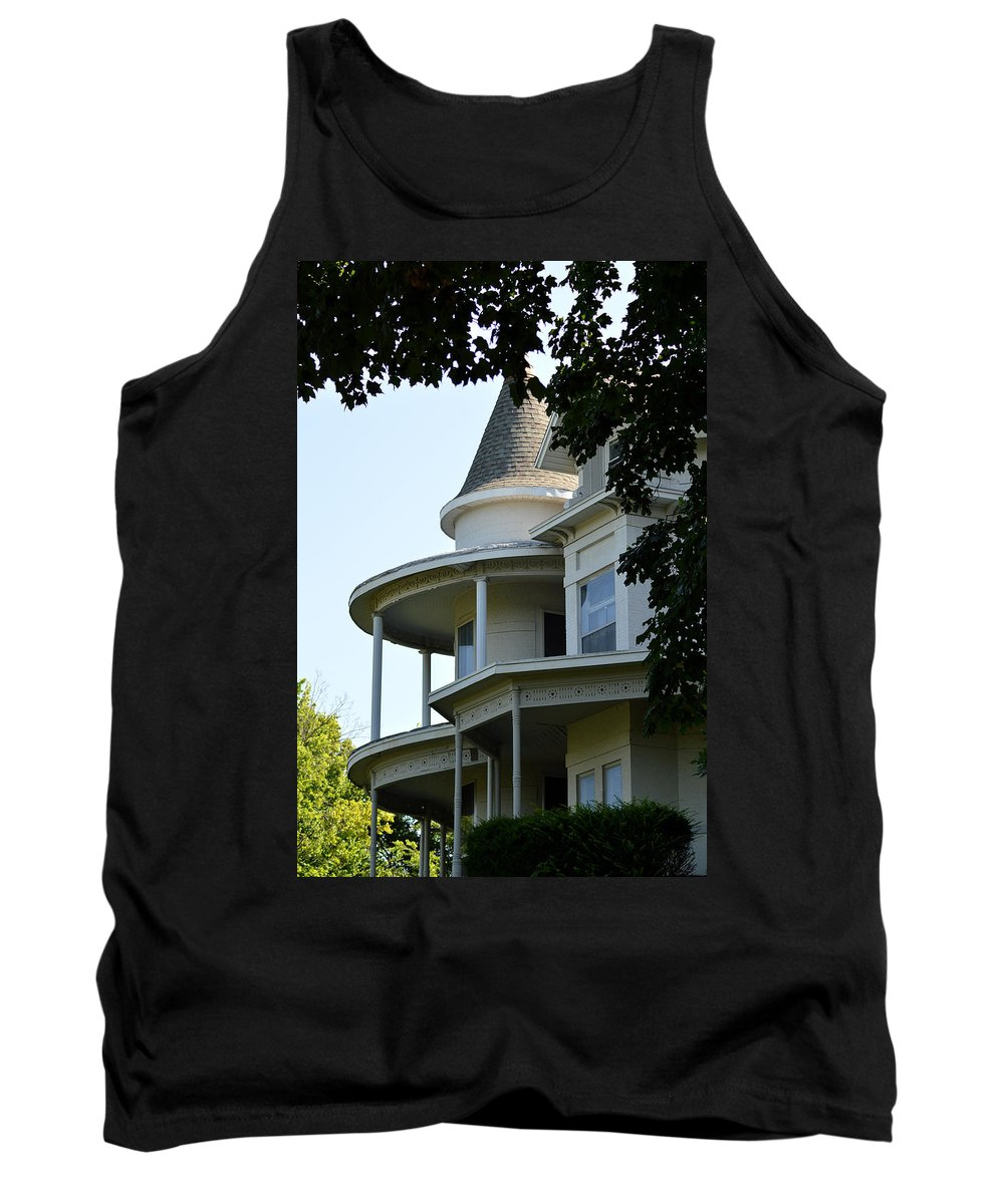 House Tank Top featuring the photograph House On The Hill by Belinda Stucki