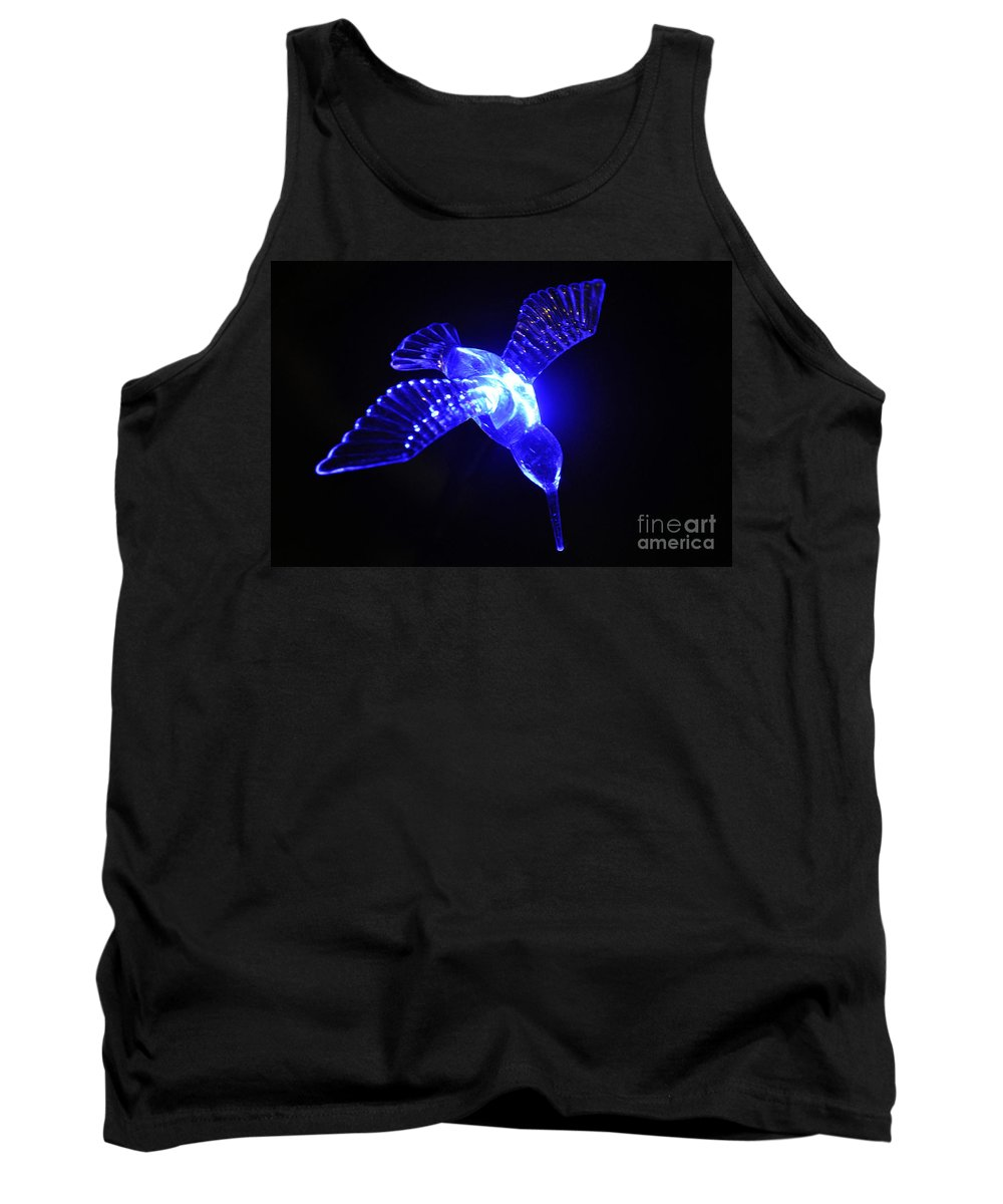 Clay Tank Top featuring the photograph Humming Bird Light by Clayton Bruster