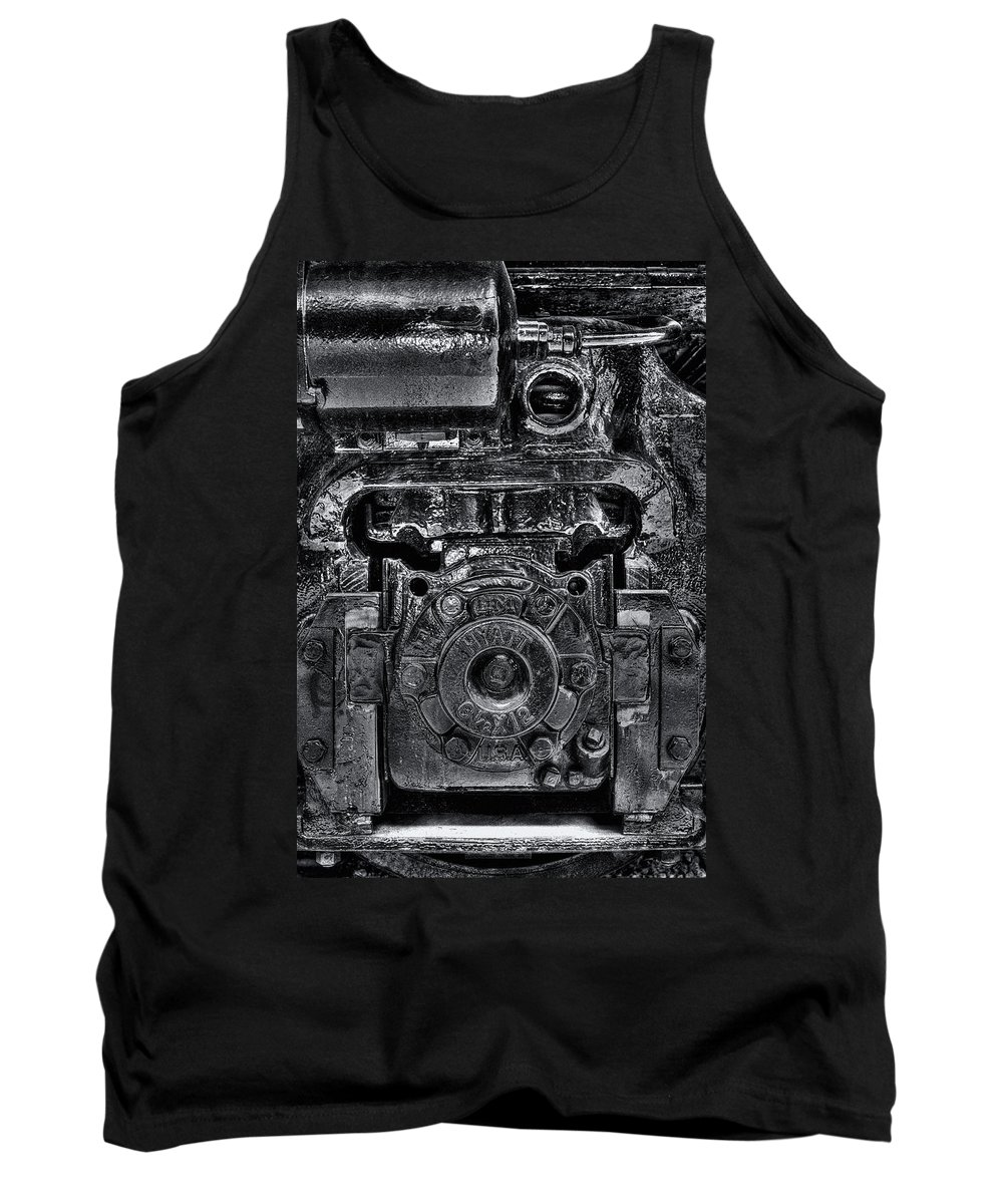 Train Tank Top featuring the photograph Hyatt Bearings by Scott Wyatt