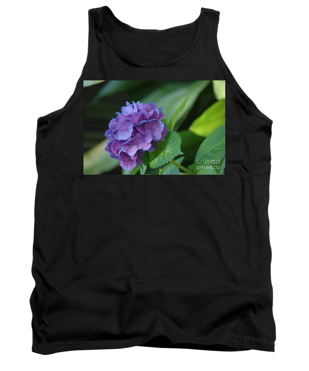 Flower Tank Top featuring the photograph Hydrangea by Donna Bentley