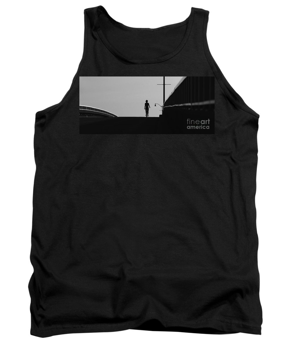 Female Tank Top featuring the photograph I Am Woman by David Lee Thompson