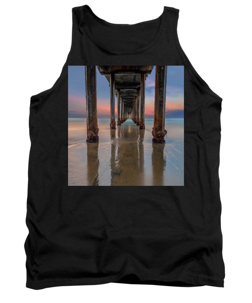 Scripps Pier Photographs Tank Tops