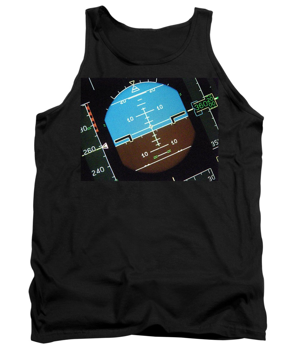 Aviation Art Tank Top featuring the photograph I'm So Confused..... by Strato ThreeSIXTYFive