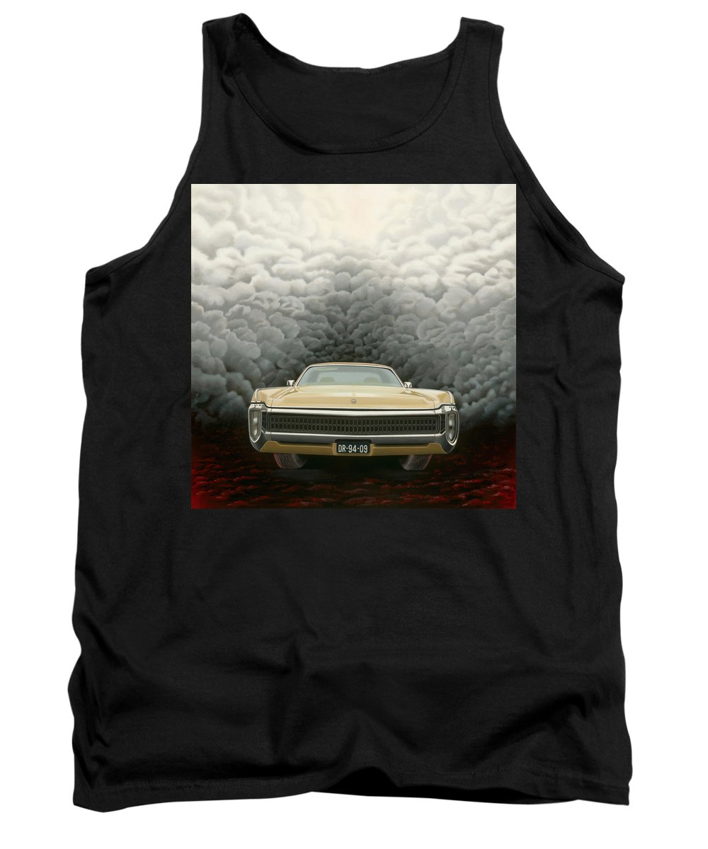 Surreal Tank Top featuring the painting Imperial by Patricia Van Lubeck