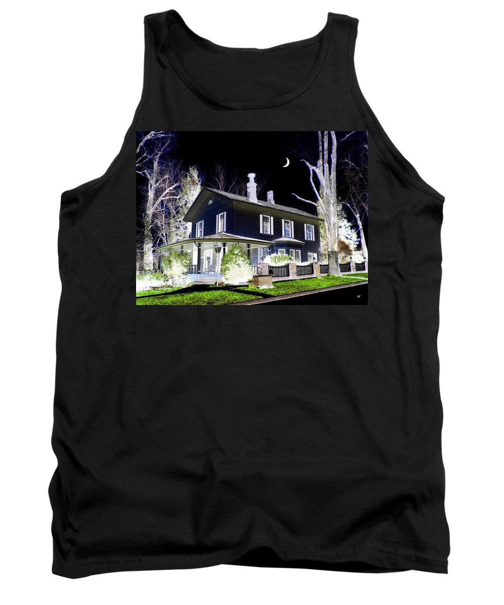 Impressions Tank Top featuring the digital art Impressions 5 by Will Borden