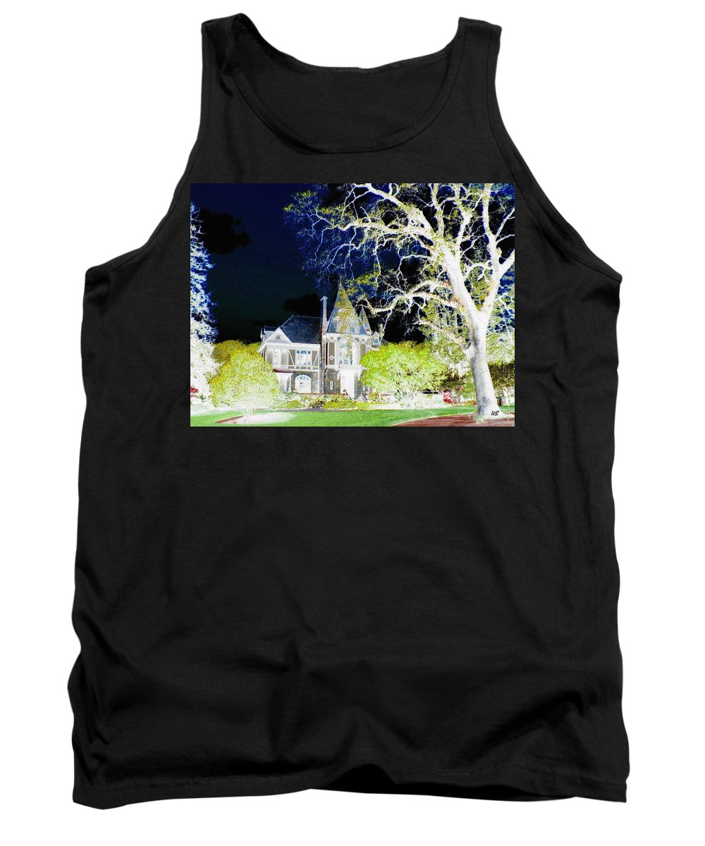 Impressions Tank Top featuring the digital art Impressions 9 by Will Borden