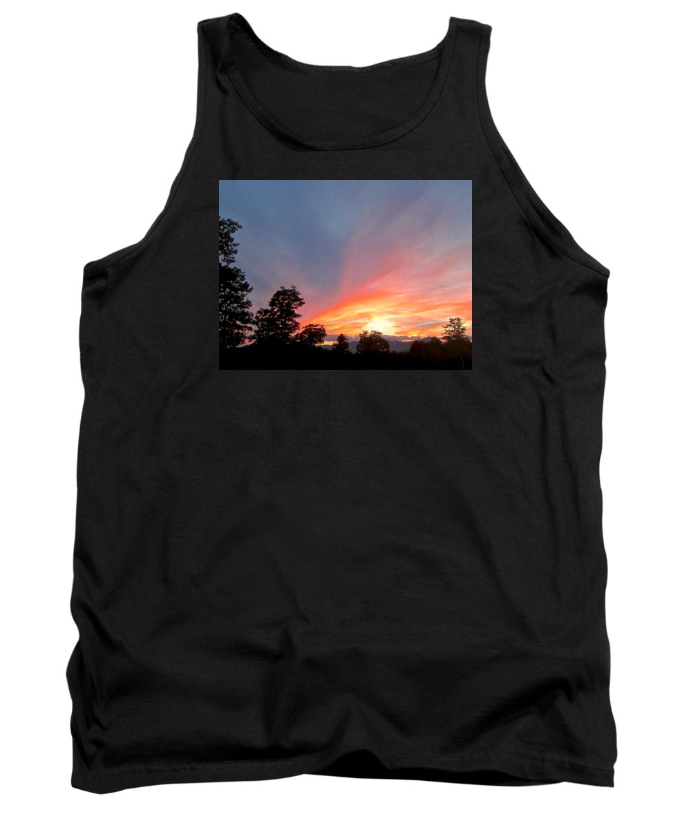 Tank Top featuring the photograph In Emptiness... by Elizabeth Tillar