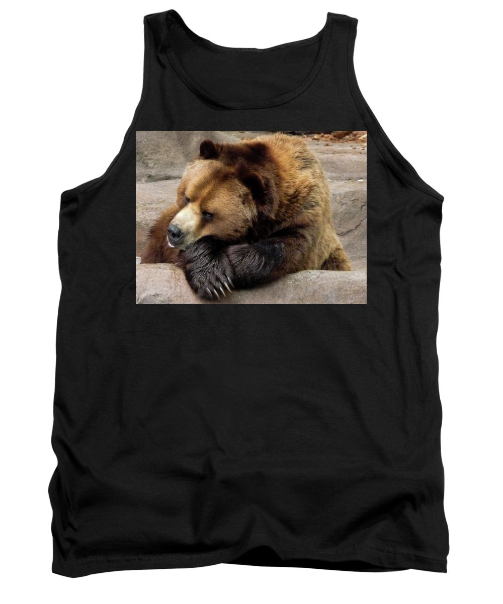 Repose Tank Top featuring the photograph In Repose by Vm Vassolo