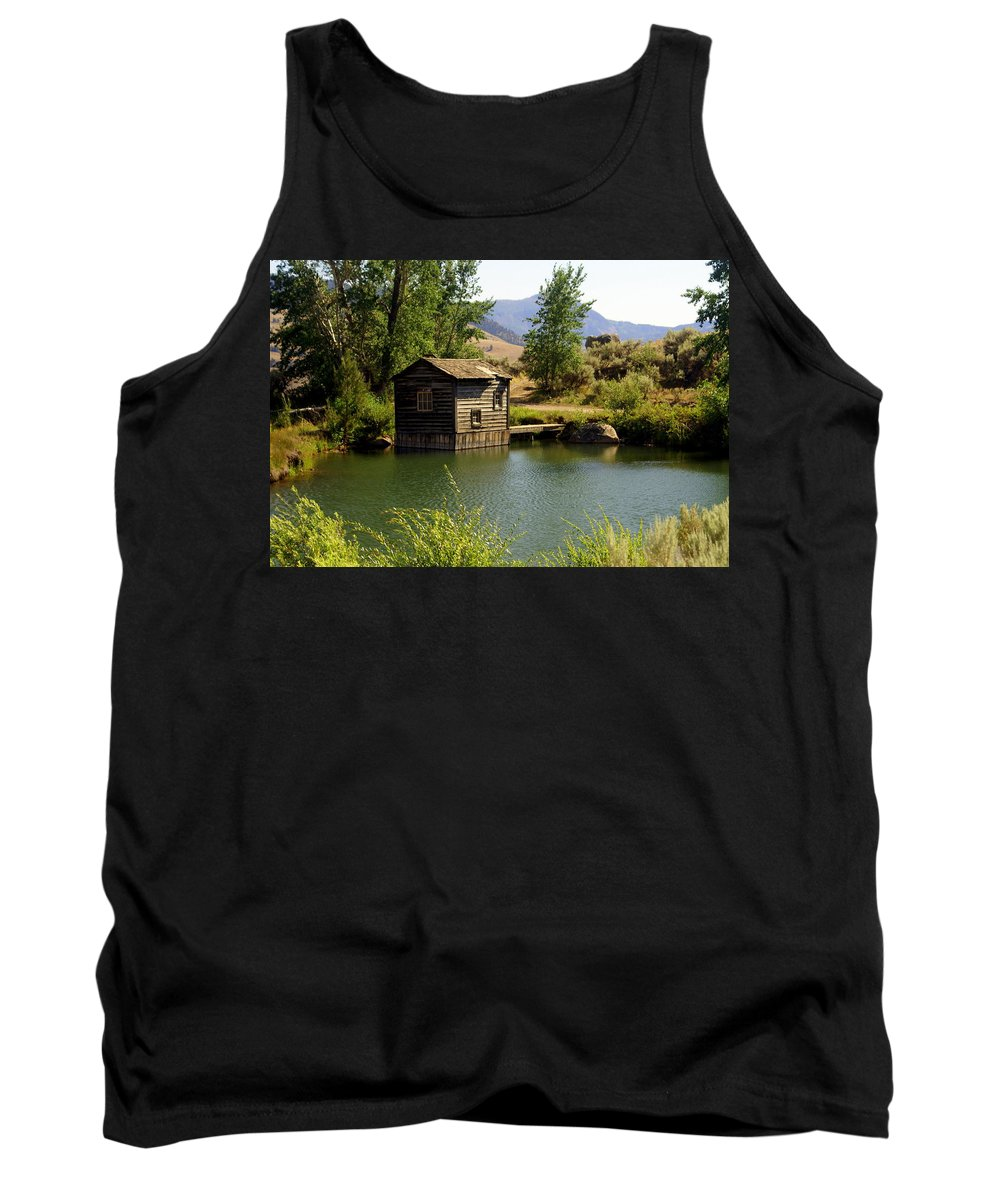 Yellowstone Tank Top featuring the photograph In The High Country by Marty Koch