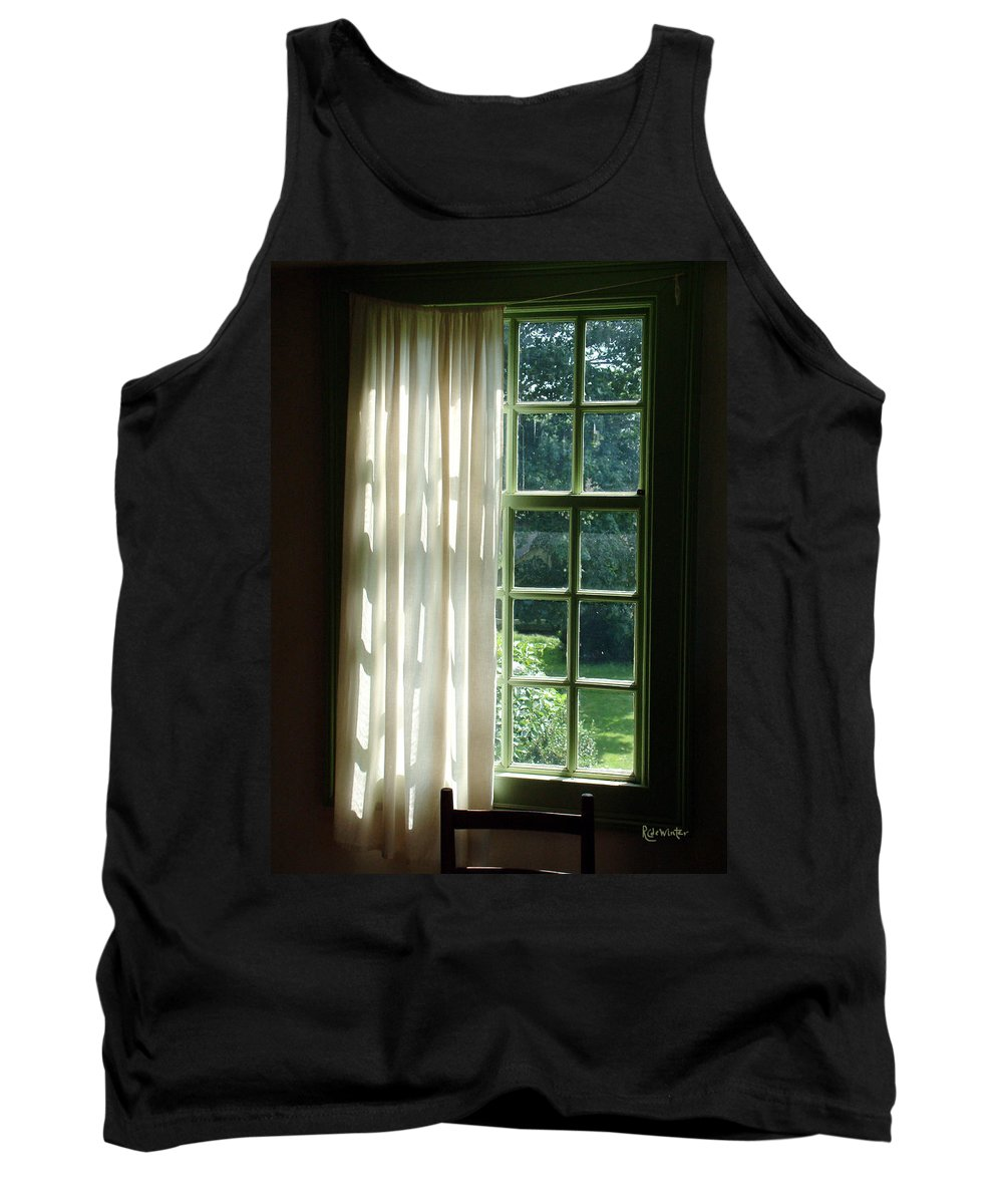 Window Tank Top featuring the photograph In The Quiet Of The Afternoon by RC deWinter