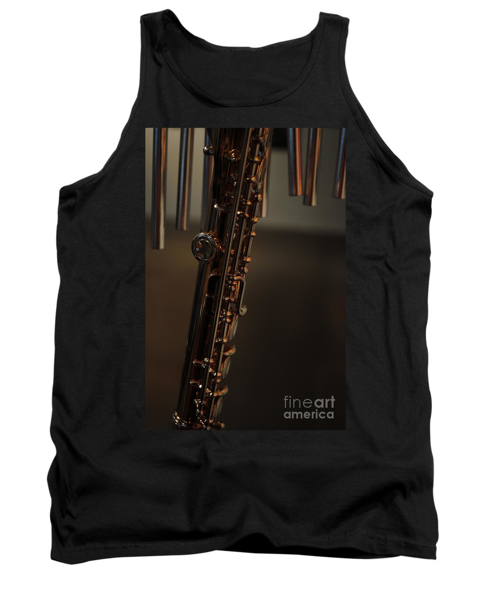 Music Tank Top featuring the photograph Instrument Of Piece by Paulette B Wright