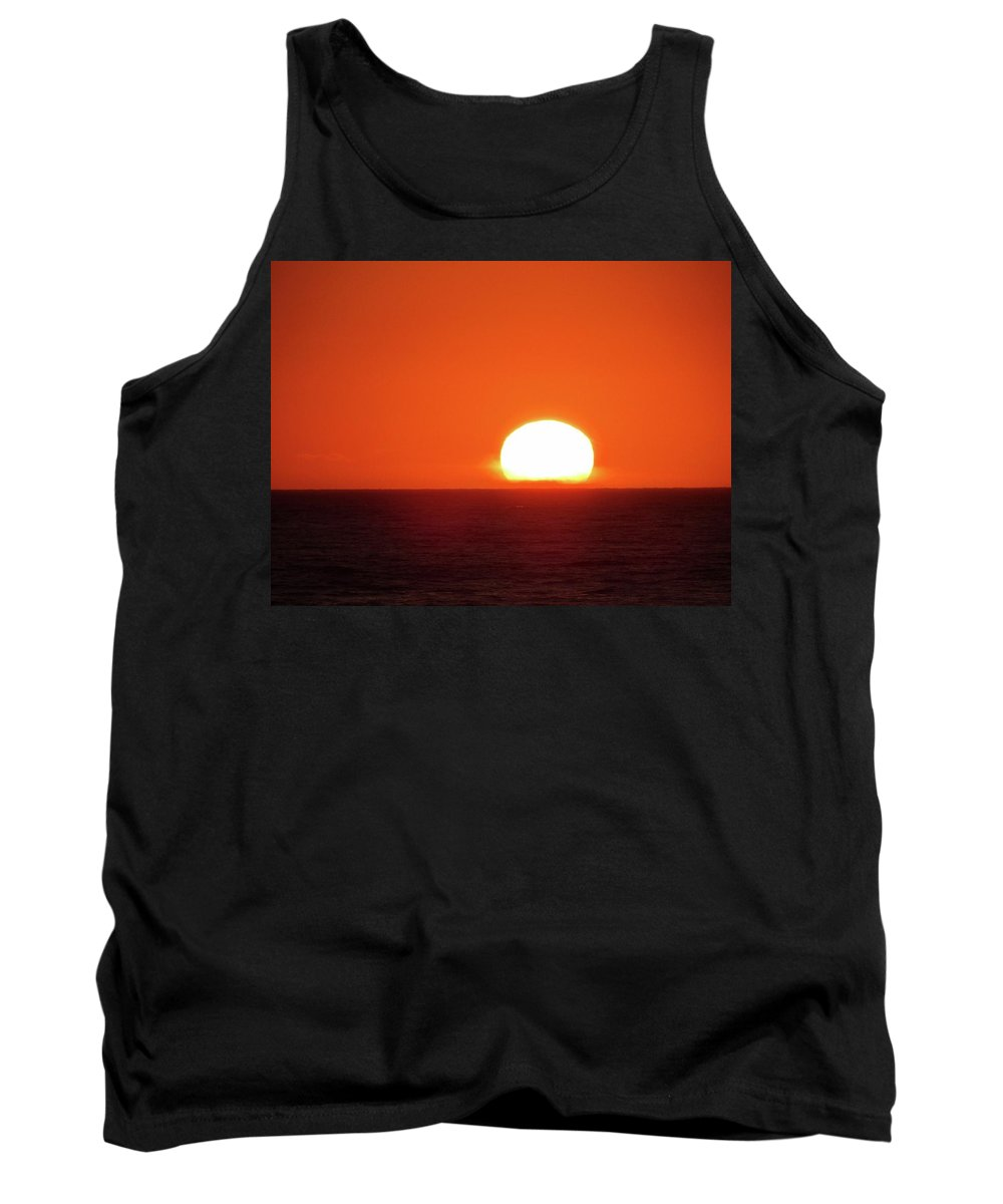 Tank Top featuring the photograph Intense Sunset Oregon by Ryan Crandall