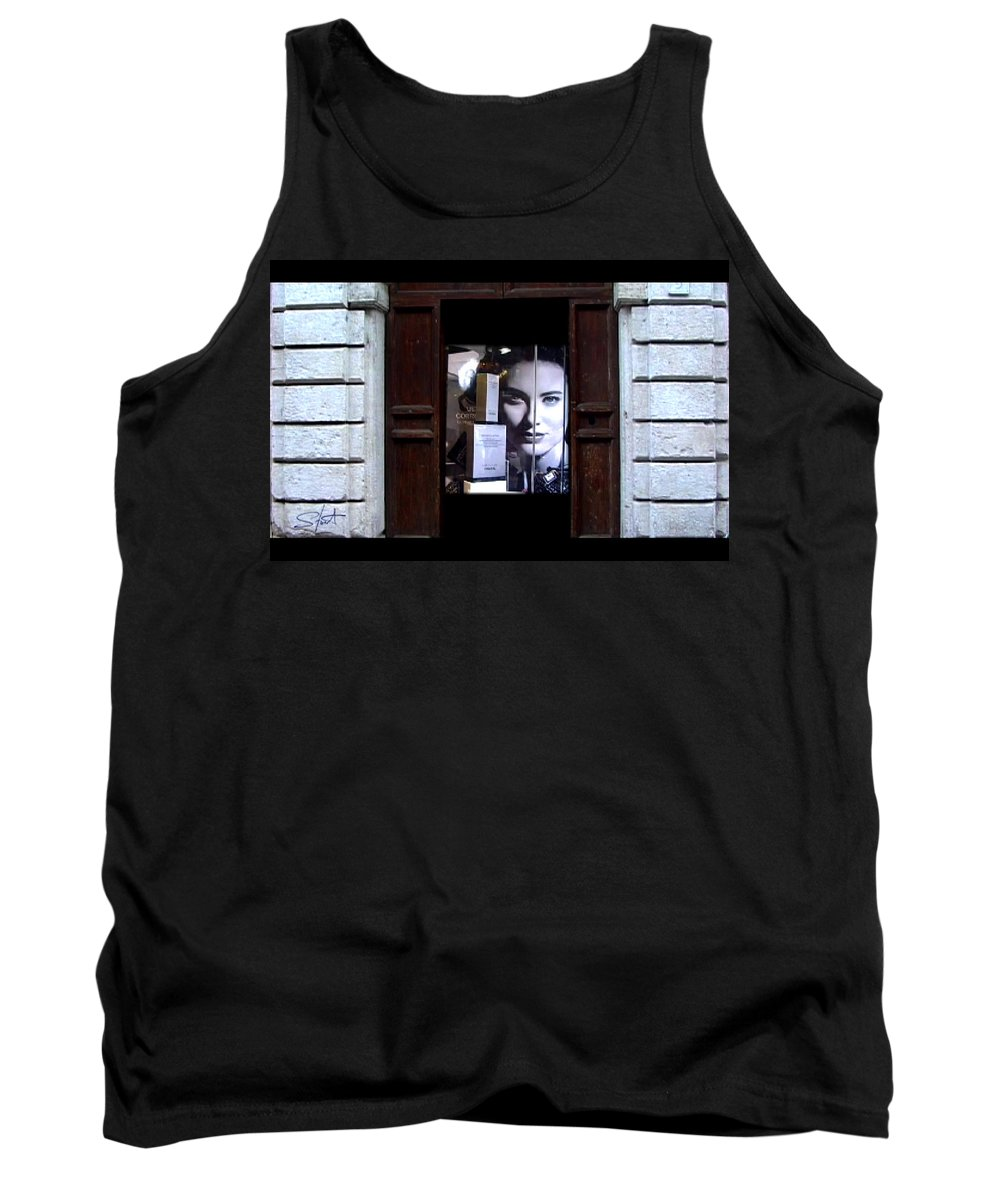Dream Tank Top featuring the painting Into The Doorway by Charles Stuart