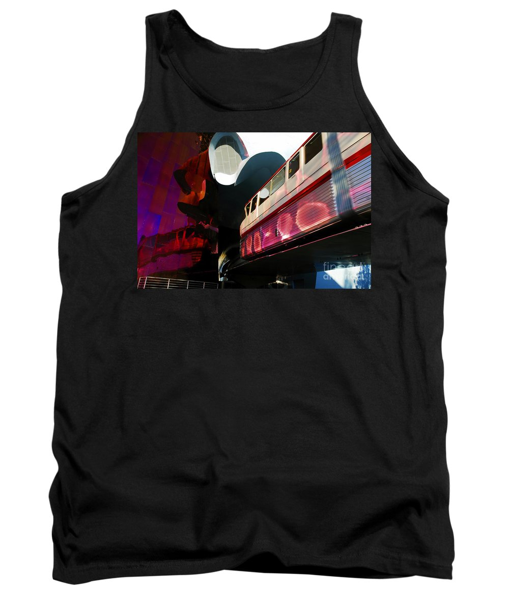 Future Tank Top featuring the photograph Into The Future by David Lee Thompson