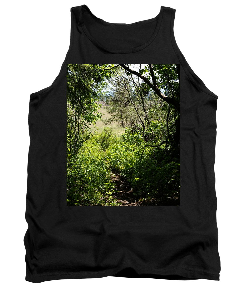 Nature Tank Top featuring the photograph Into The Light by Ben Upham III