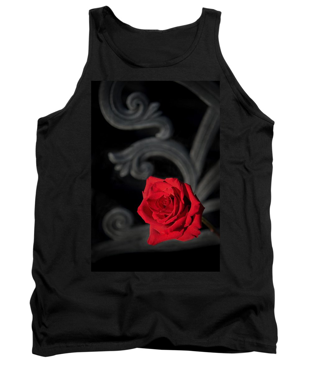 Rose Tank Top featuring the photograph Intrigue by Steven Sparks