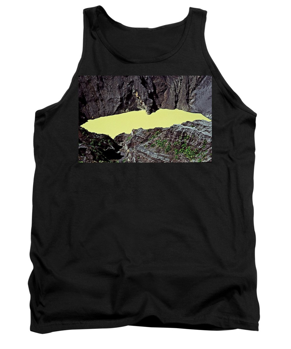 Central America Tank Top featuring the photograph Irazu Volcano - Costa Rica by Juergen Weiss