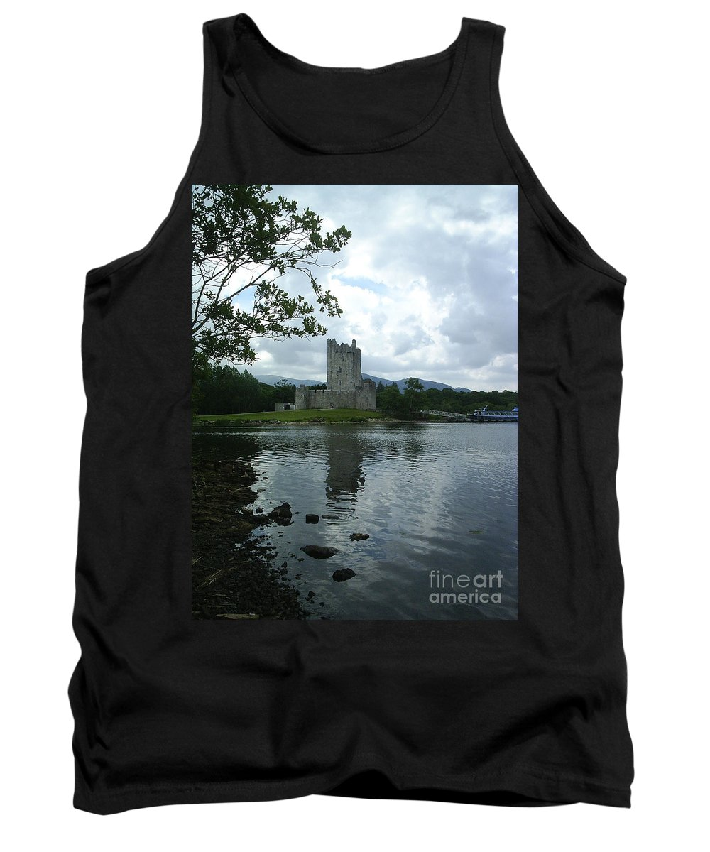 Castle Tank Top featuring the photograph Irish Castle by Paul Maher
