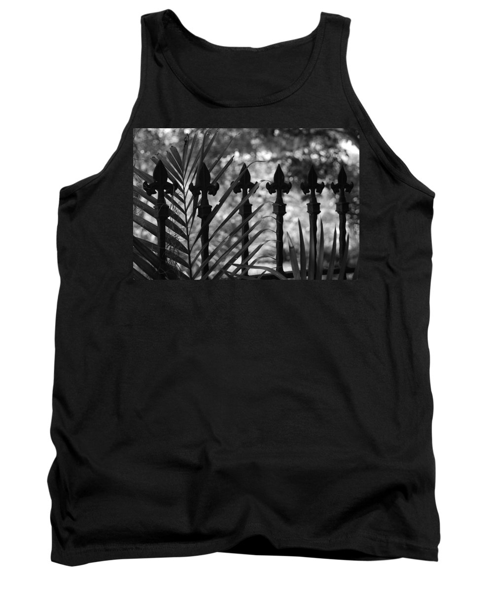 Wrought Iron Tank Top featuring the photograph Iron Fence by Rob Hans