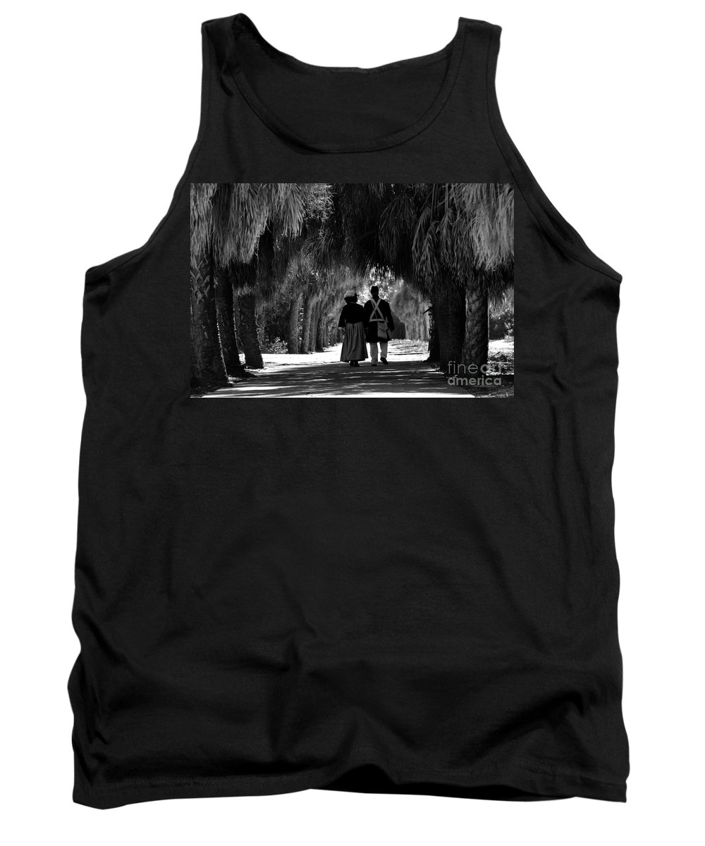 Historic Tank Top featuring the photograph Island History by David Lee Thompson