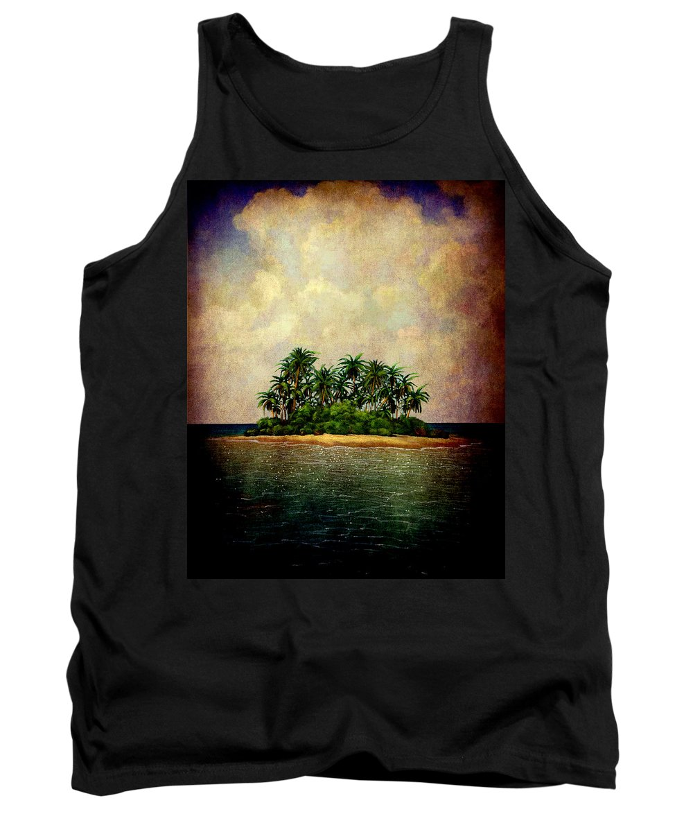 Island Tank Top featuring the photograph Island Of Dreams by Susanne Van Hulst