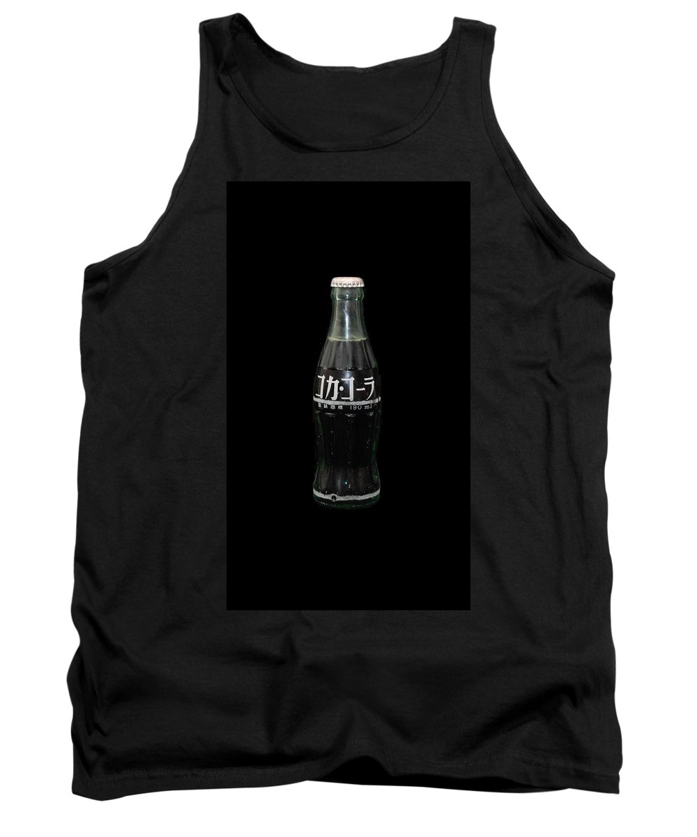 White Tank Top featuring the photograph Japanese Coke by Rob Hans