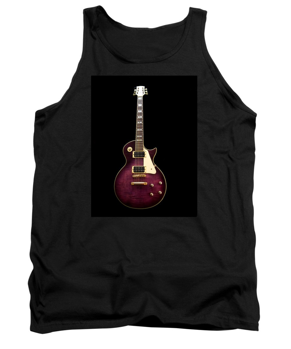 Jay Turser Tank Top featuring the photograph Jay Turser Guitar by Dorothy Lee
