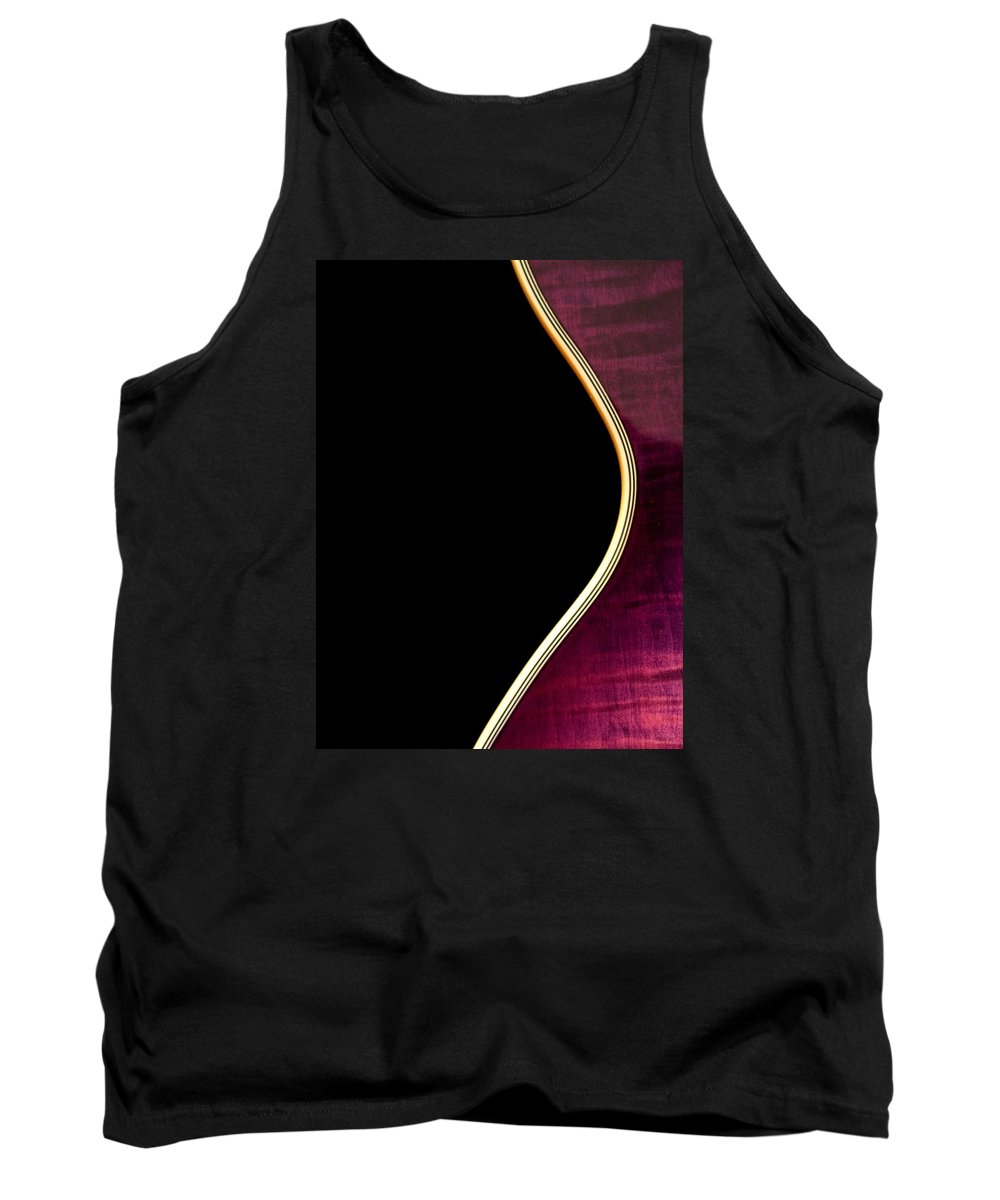 Jay Turser Tank Top featuring the photograph Jay Turser Guitar 5 by Dorothy Lee