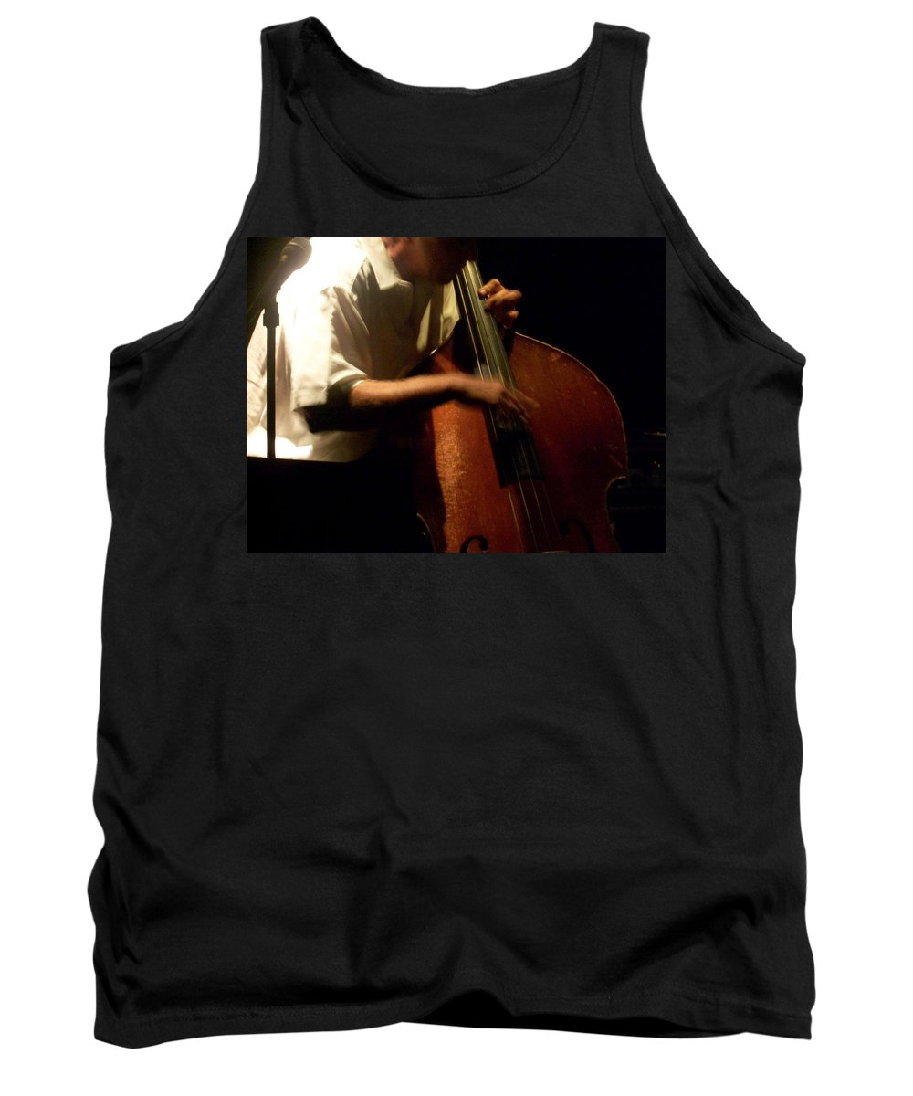 Jazz Tank Top featuring the photograph Jazz Estate 5 by Anita Burgermeister