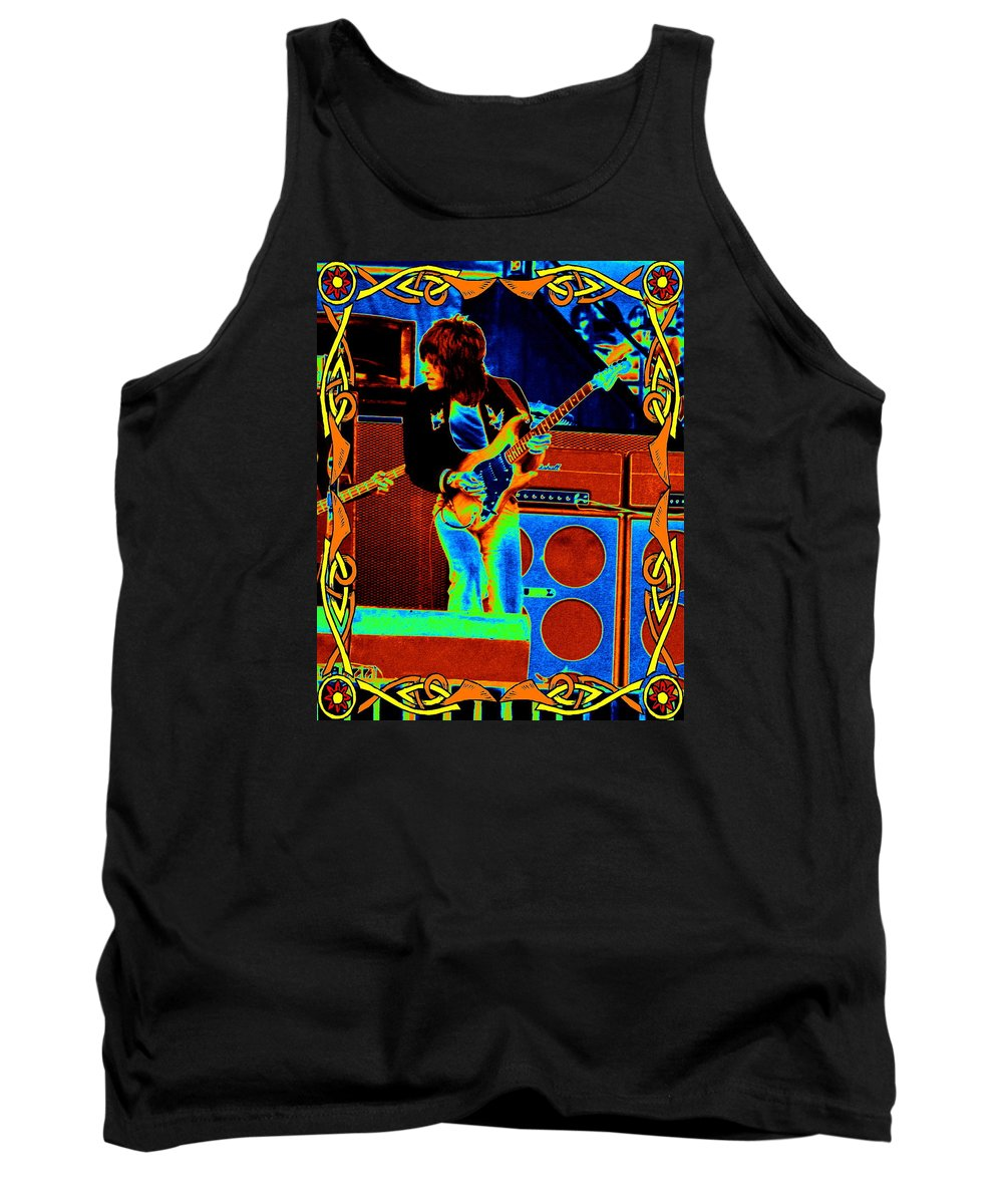 Jeff Beck Tank Top featuring the photograph Colors At The Day On The Green by Ben Upham