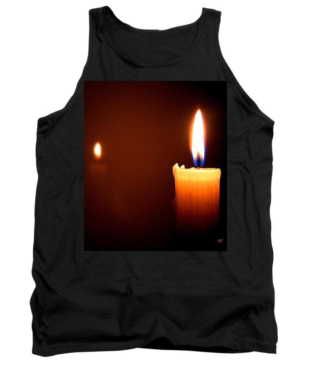 Reflection Tank Top featuring the photograph Joie De Vivre by Will Borden