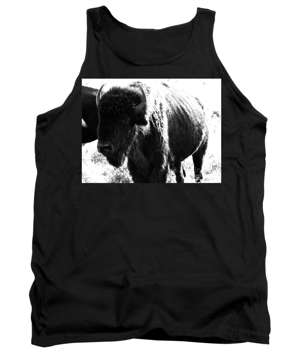 Buffalo Tank Top featuring the photograph Join The Party by Amanda Barcon
