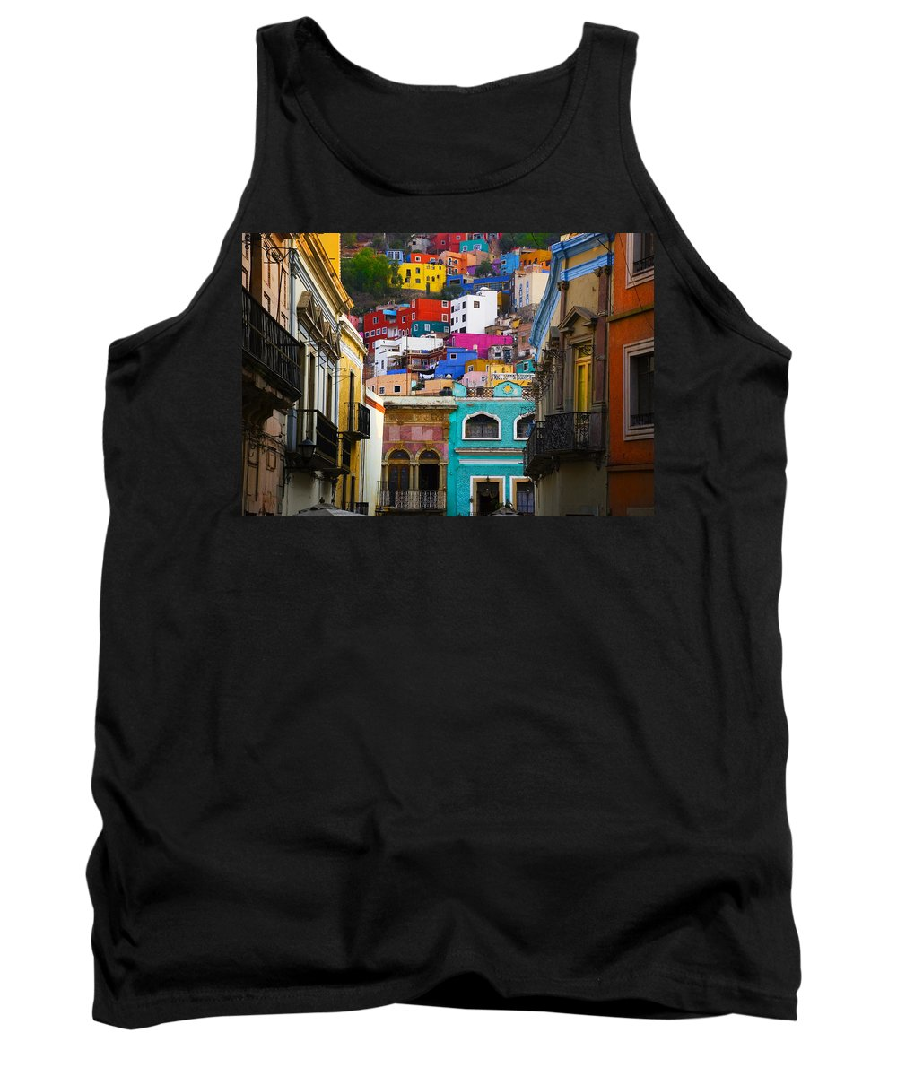 Architecture Tank Top featuring the photograph Juegos In Guanajuato by Skip Hunt