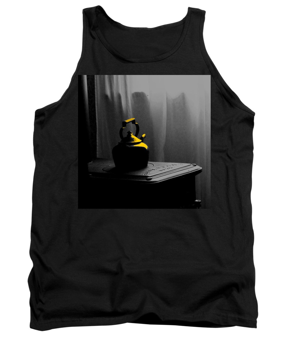 Kettle Tank Top featuring the photograph Kettle In Isolation by Ian MacDonald