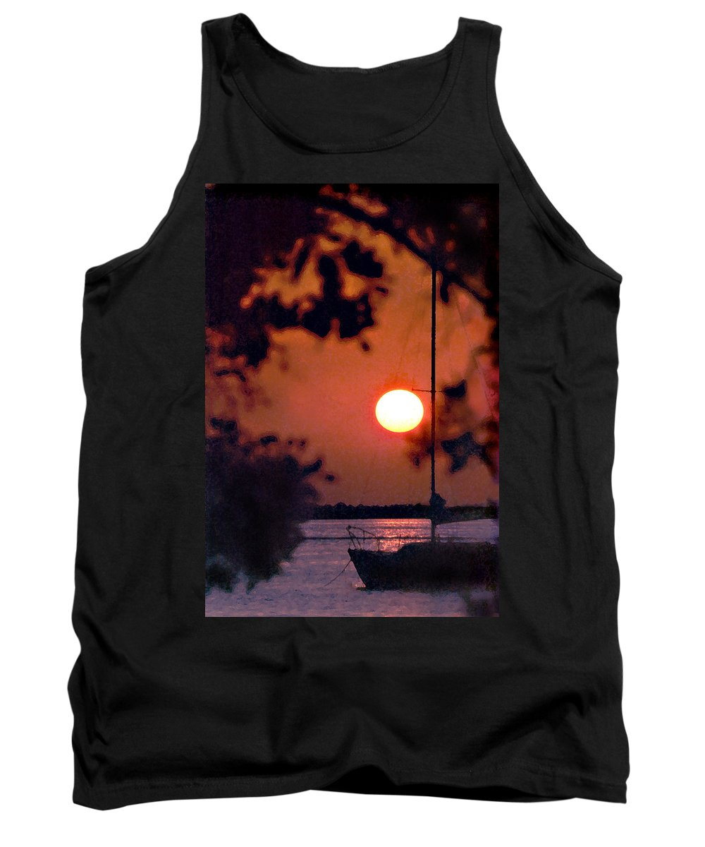 Seascape Tank Top featuring the photograph Key Largo by Steve Karol