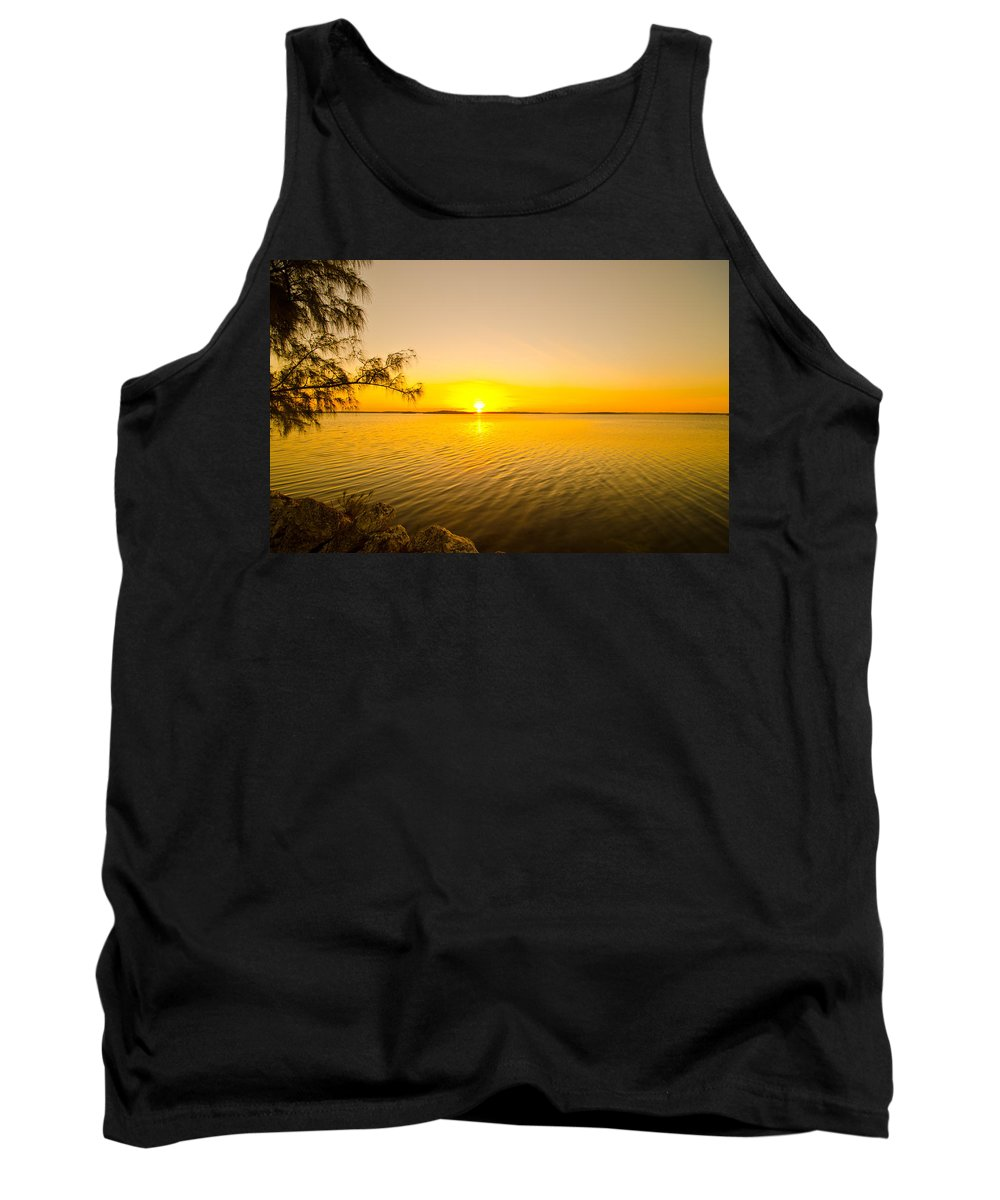 Sunrise Tank Top featuring the photograph Key Largo Sunrise 2 by Chris Thaxter