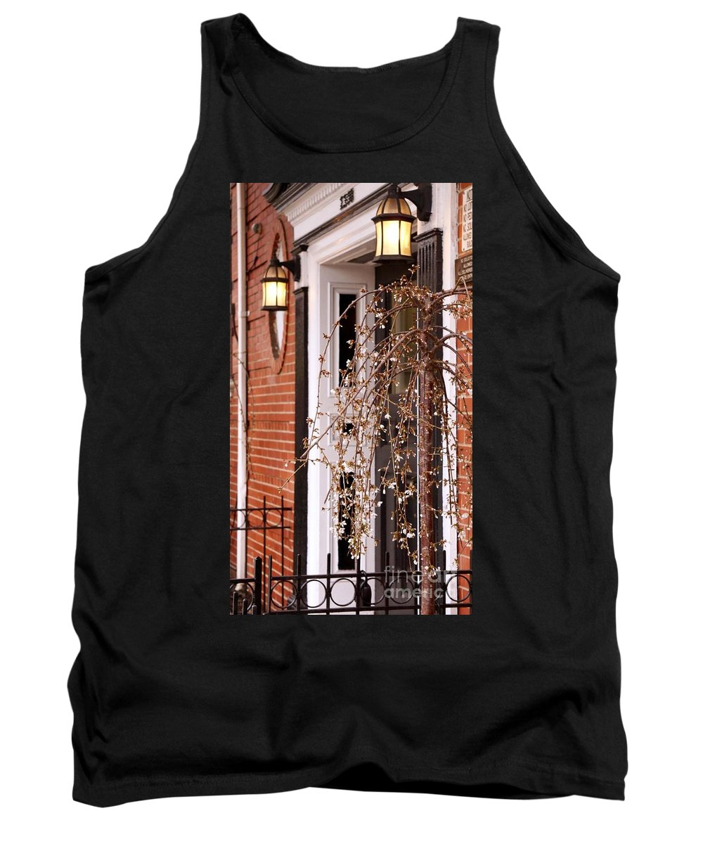 Spring Tank Top featuring the photograph Knocking At Your Door by Mioara Andritoiu