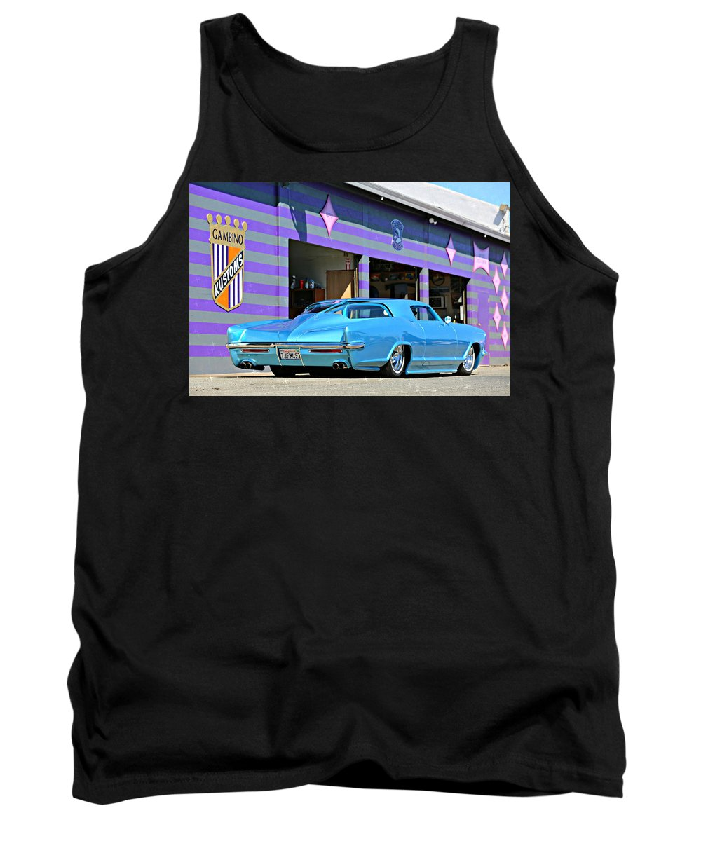 Kustom Tank Top featuring the photograph Kustom On The Riviera by Steve Natale