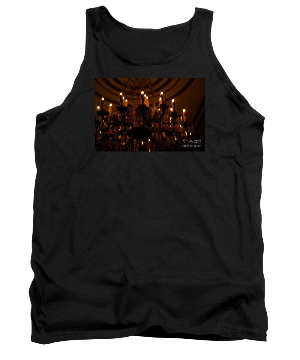 Light Tank Top featuring the photograph La Salle D'attente by Linda Shafer