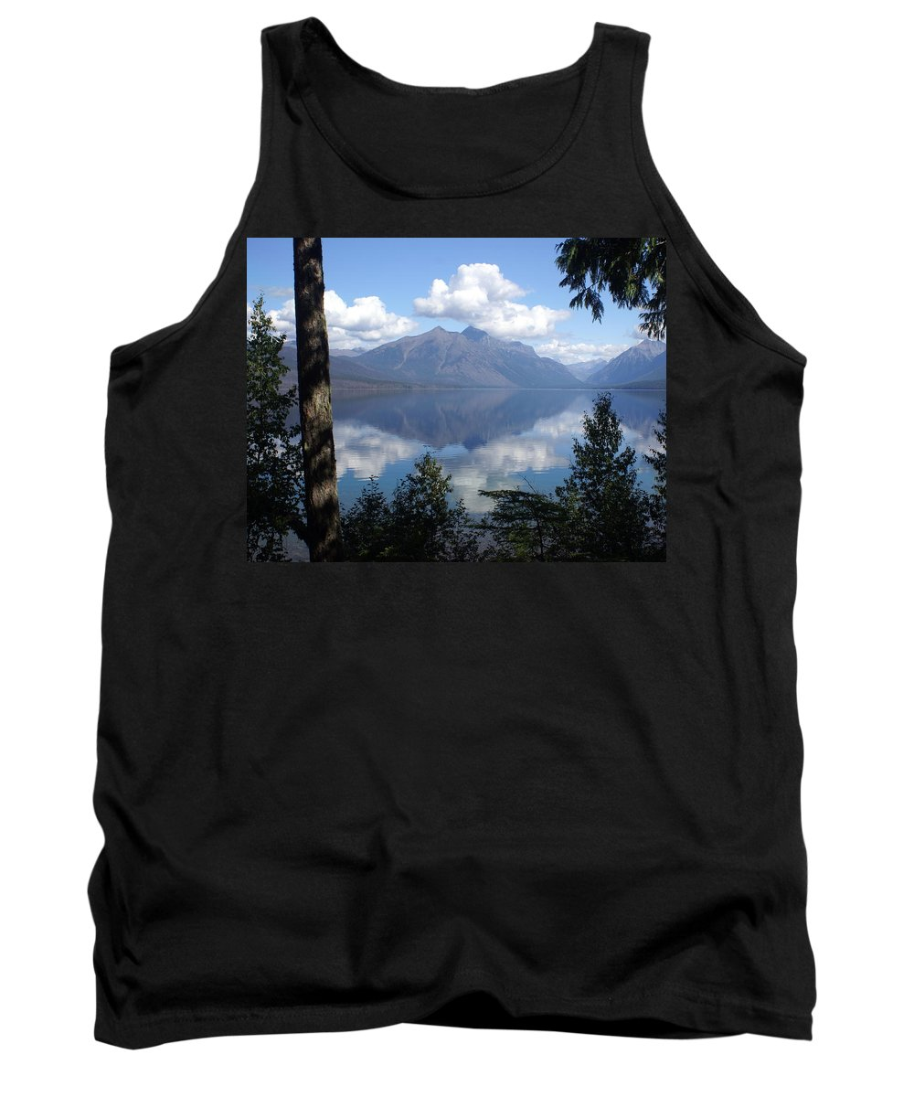 Lake Tank Top featuring the photograph Lake Mcdonald Glacier National Park by Marty Koch